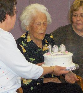 Aunt Irene's 100th Birthday