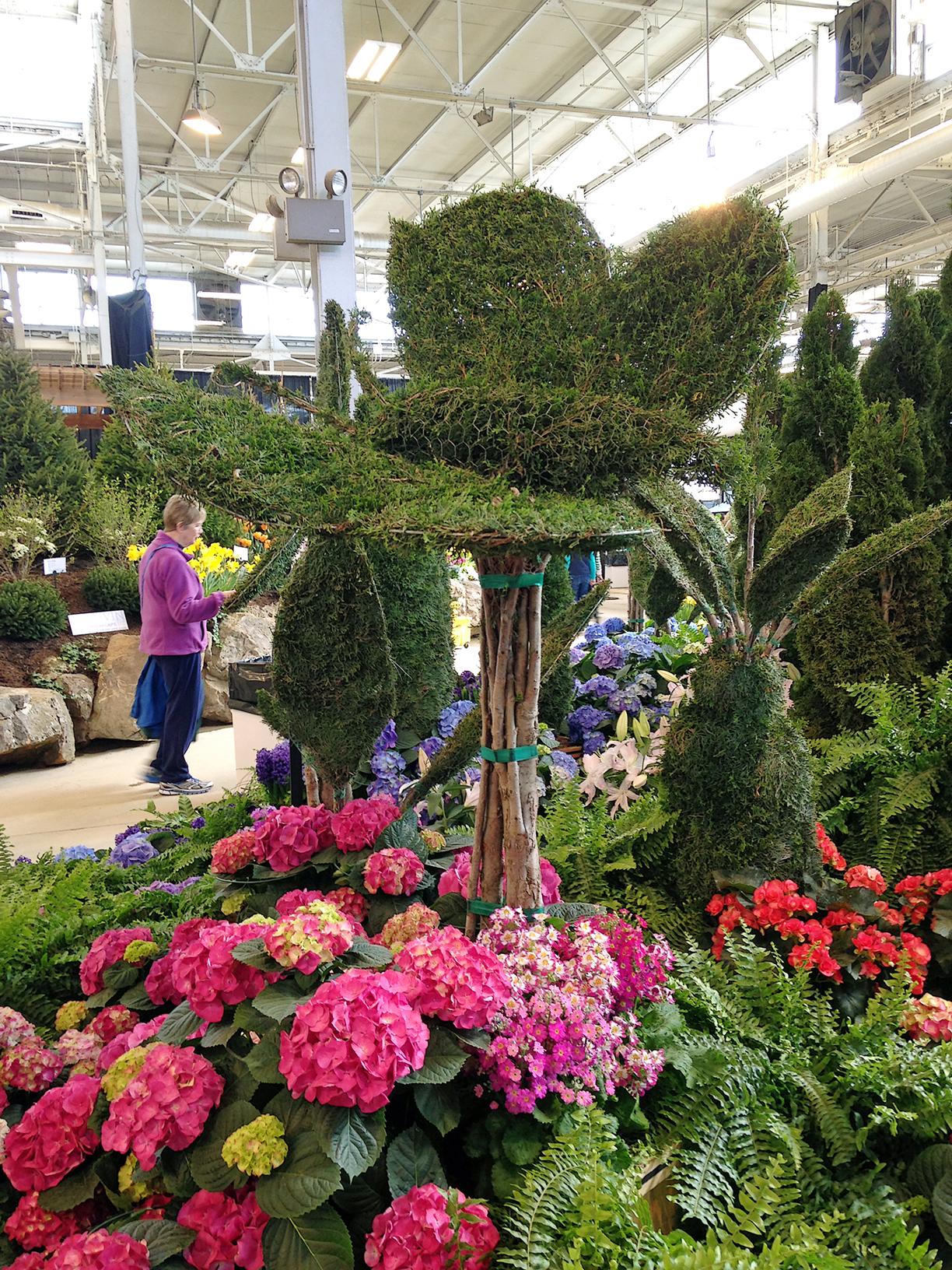 Indiana Flower and Patio Show 2015 Mini exhibit